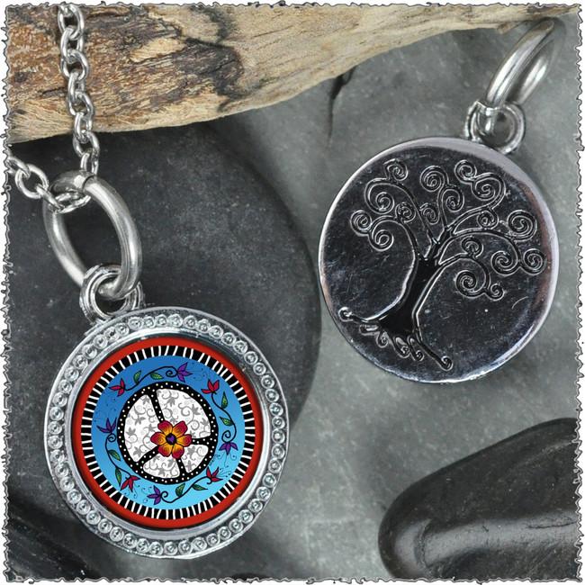 "Peace ""Tree"" Pendant"