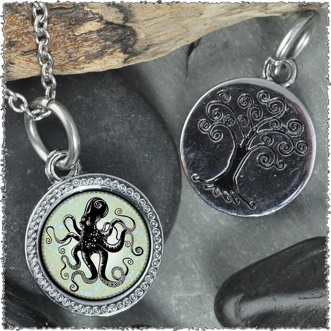 "Octopus ""Tree"" Pendant"