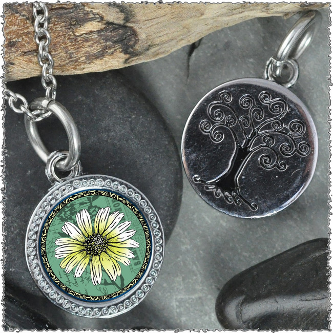 "Daisy Green ""Tree"" Pendant"