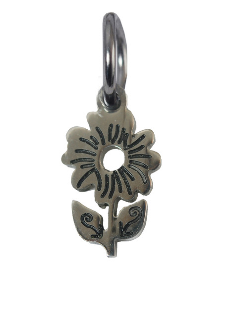 Daisy Stainless Steel Charm