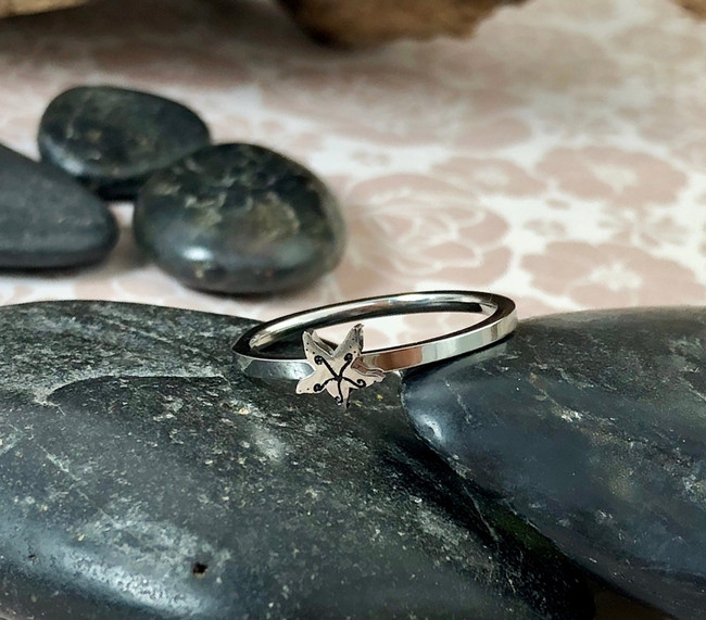 Starfish Stacking Art Ring