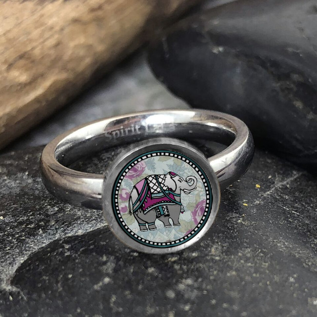 Ellephant Stainless Art Ring