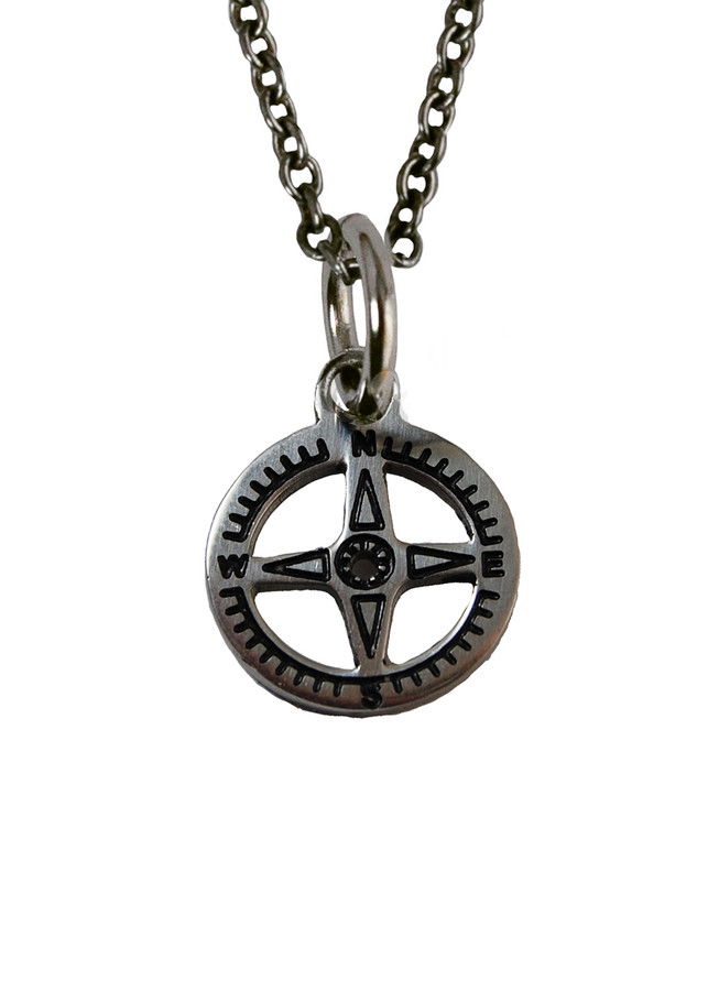Compass Charm (Stainless Steel)