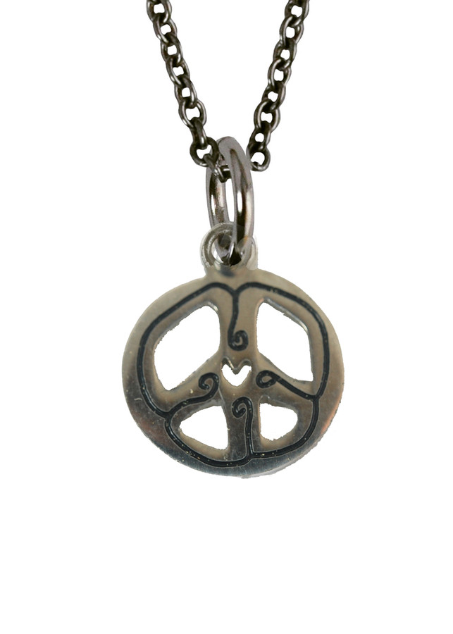 Peace Charm (Stainless Steel)