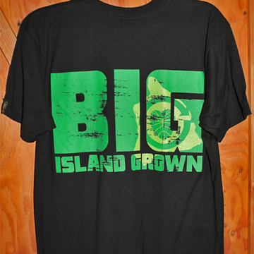 """Aloha Grown """"Big Island Grown"""" Tee"""