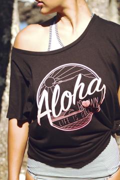 "Aloha Grown ""Life is Green"" Ladies Tee"