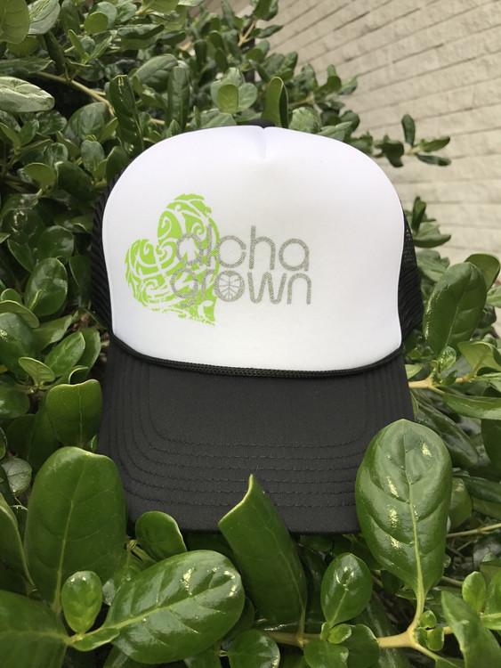 Aloha Grown Heart Trucker Cap