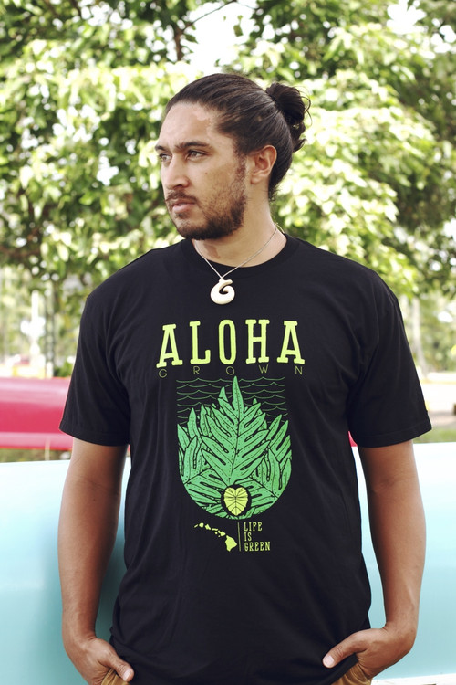 "Aloha Grown ""Aloha Laua'e"" Tee"
