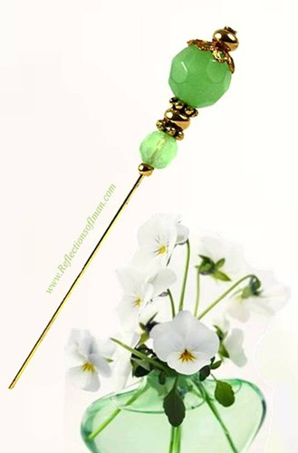 Frost Green Hijab Pin