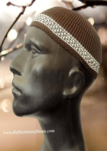 Basic Brown Men Kufi