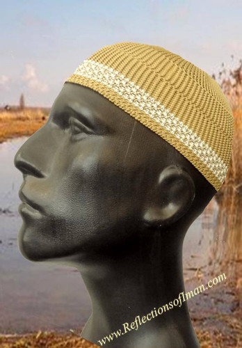 Basic Tan Men Kufi