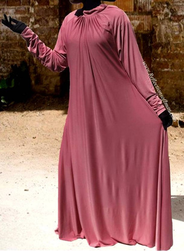 Desert Rose Umbrella Swing Abaya