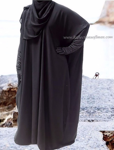 Forever... The Black Dubai Abaya