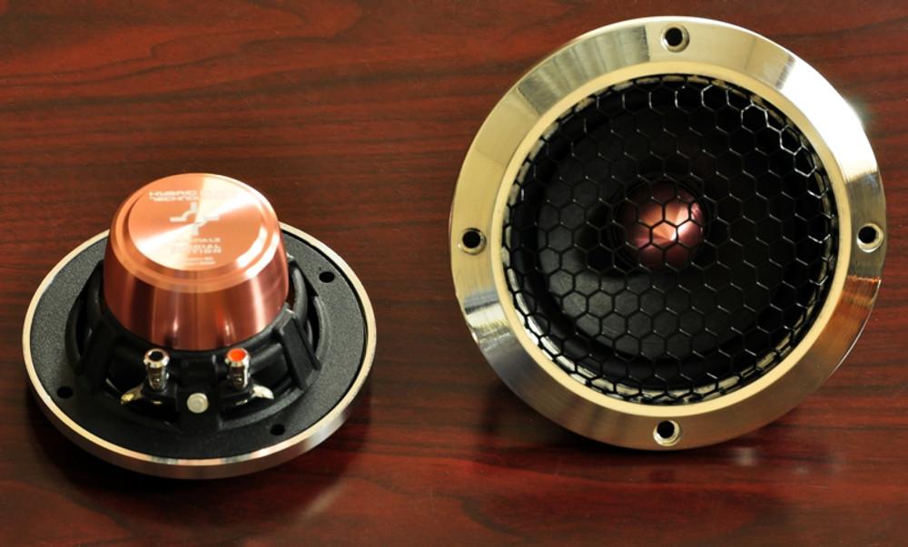Billet Aluminum Clarus C5 Speaker Grille Set