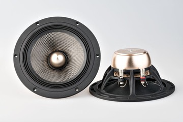 "X6 7.1"" Carbon Fiber Speaker Set With Phase Plug"