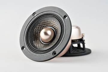 "X3 3.7"" Carbon Fiber Speaker Set with Phase Plug"