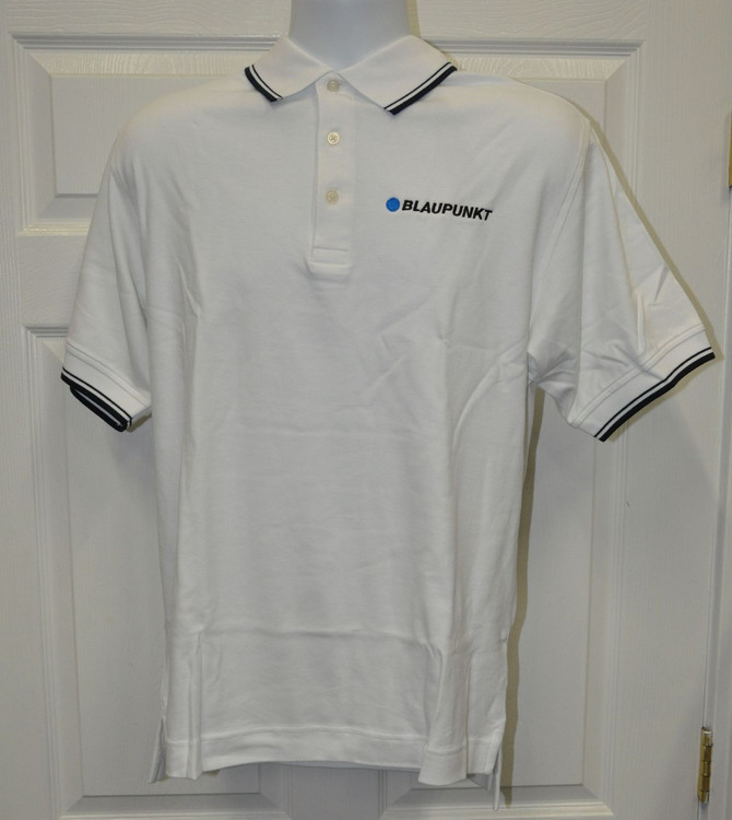Blaupunkt Polo Shirt-White stripe