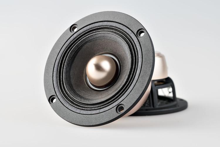 """X3 3.7"""" Speaker Set with Phase Plug"""