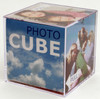 Plastic Acrylic Photo Cube
