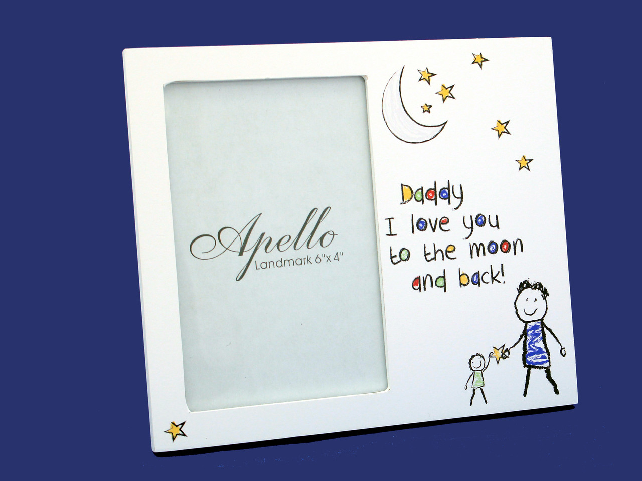 Daddy White Photo Frame - Beautiful Frames & Gifts Store