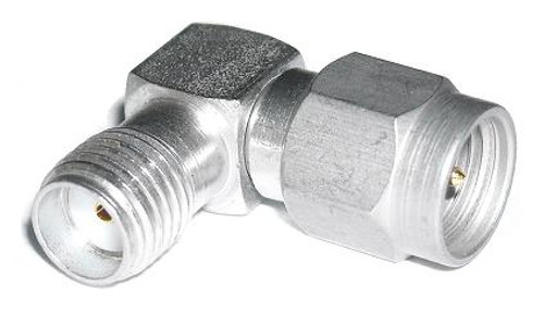 Mil-Spec Grade SMA Male-Female Elbow Coaxial Adapter Connector