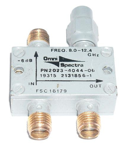 Omni-Spectra 2131856-1 - 6 dB Directional Coupler