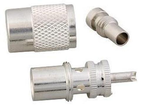 Silver-Teflon PL-259 Coaxial Connector for RG-8X Mini-8 & RG-59