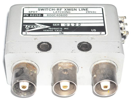Transco 800C40600 - SPDT Coaxial Switch Relay