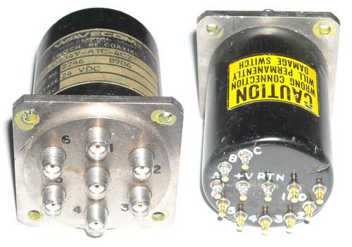 Wavecom 060-D234Y-A1C-4C2 - SP6T Coaxial Switch