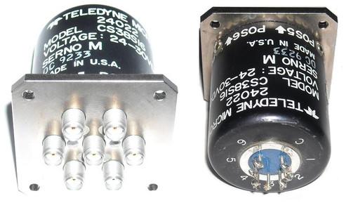 Teledyne SP6T Coaxial Switch SMA DC-18 GHz 28V