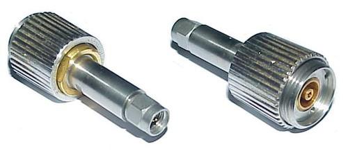 APC-7 to SMA-Male Long Neck Coaxial Adapter Connector