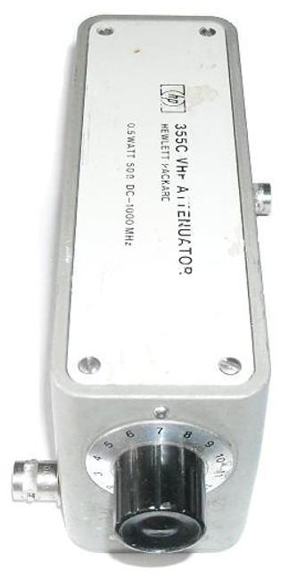 HP-Agilent 355C Step Attenuator DC-1 GHz