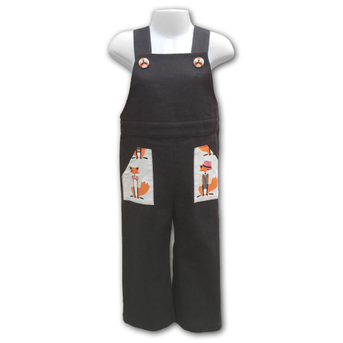 Ariella Tailored Overall Fox Design