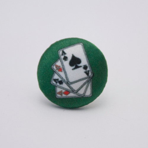 Ariella Playing Cards Tie Pin