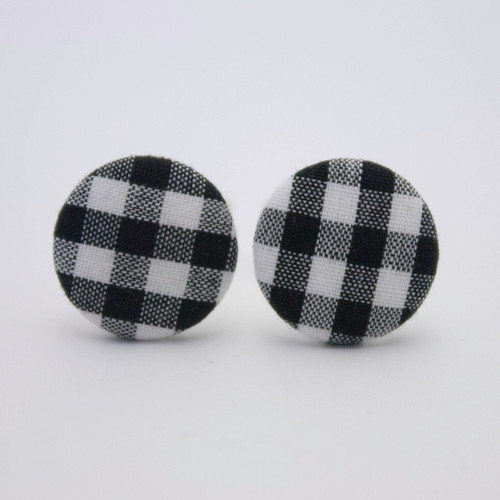 Ariella Rockabilly Check Earrings