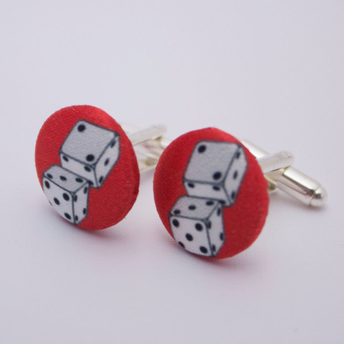 Ariella Dice Cufflinks