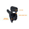 CONCEALED ANKLE HOLSTER BLACK