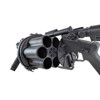 MULTIPLE GRENADE AIRSOFT LAUNCHER BLACK