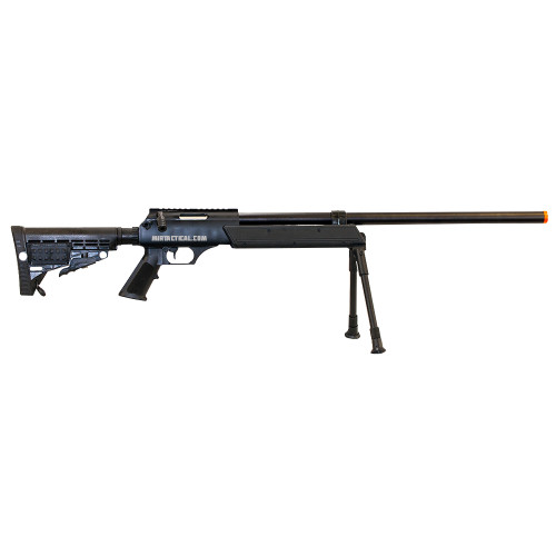 AIRSOFT ASR SPRING SNIPER RIFLE BLACK