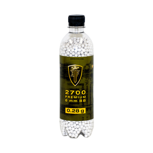BB 0.28 GRAM 2700 BOTTLE  AIRSOFT
