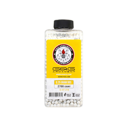 0.25G BB 2700 BOTTLE WHITE