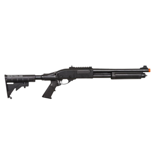 AIRSOFT GAS SCATTERGUN TS BLACK