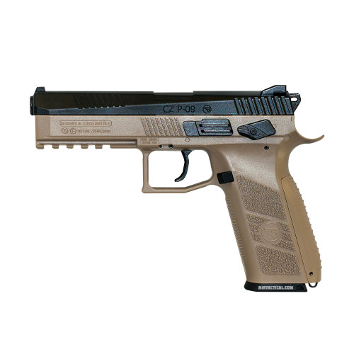 CZ P-09 CO2 4.5MM AIRGUN FDE