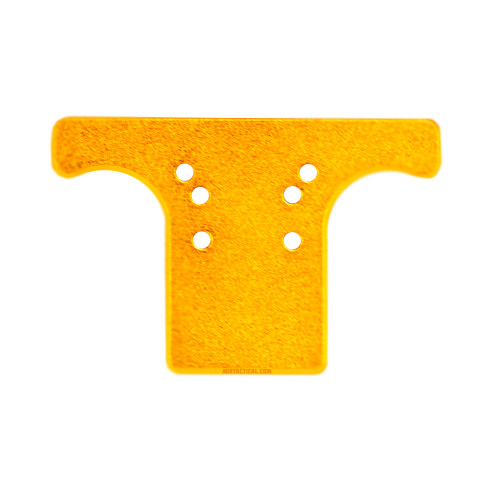 AIRSOFT REAR SIGHT PLATE SP-01 ORANGE