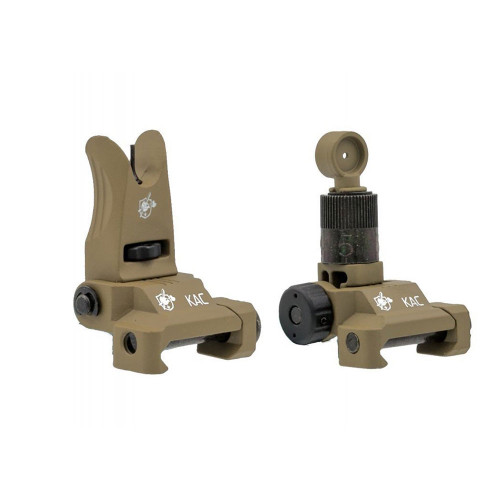 KNIGHT`S ARMAMENT AIRSOFT IRON SIGHT TAN
