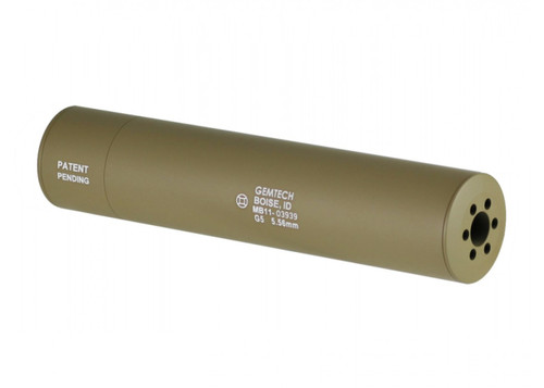 GEMTECH G5 BARREL EXTENSION TAN