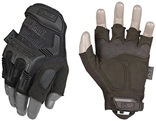 M-PACT FINGERLESS GLOVES BLACK