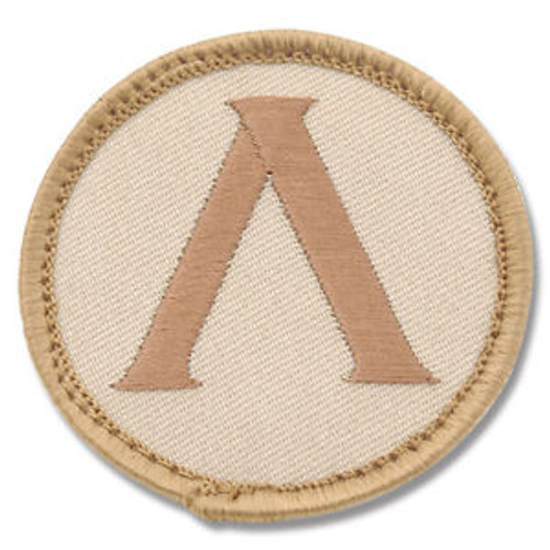 LAMBDA SHIELD DESERT PATCH