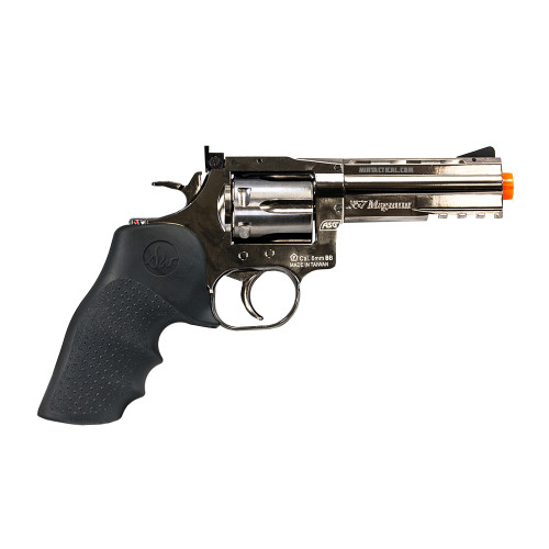 "DW 715 AIRSOFT 4"" REVOLVER STEEL GREY"