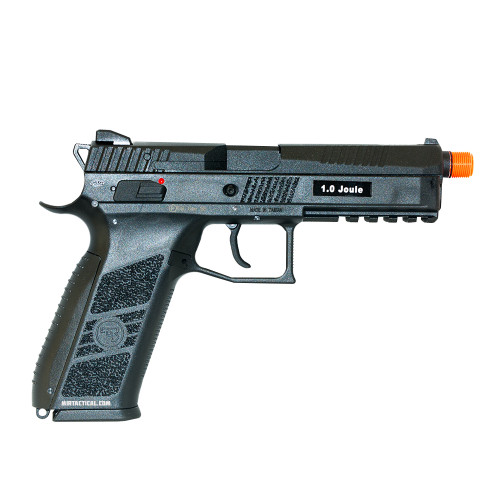 CZ P-09 PISTOL AIRSOFT GBB THREADED BLK